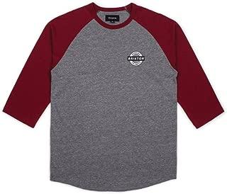 Brixton Men's Speedway Tailored Fit 1/2 Sleeve Baseball Tee