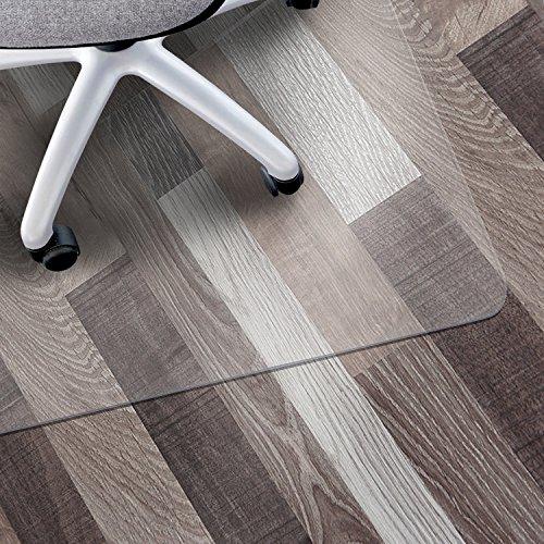Matladin Heavy Duty PVC Chair Mat for Hardwood Surface Floor Office,Easy to...