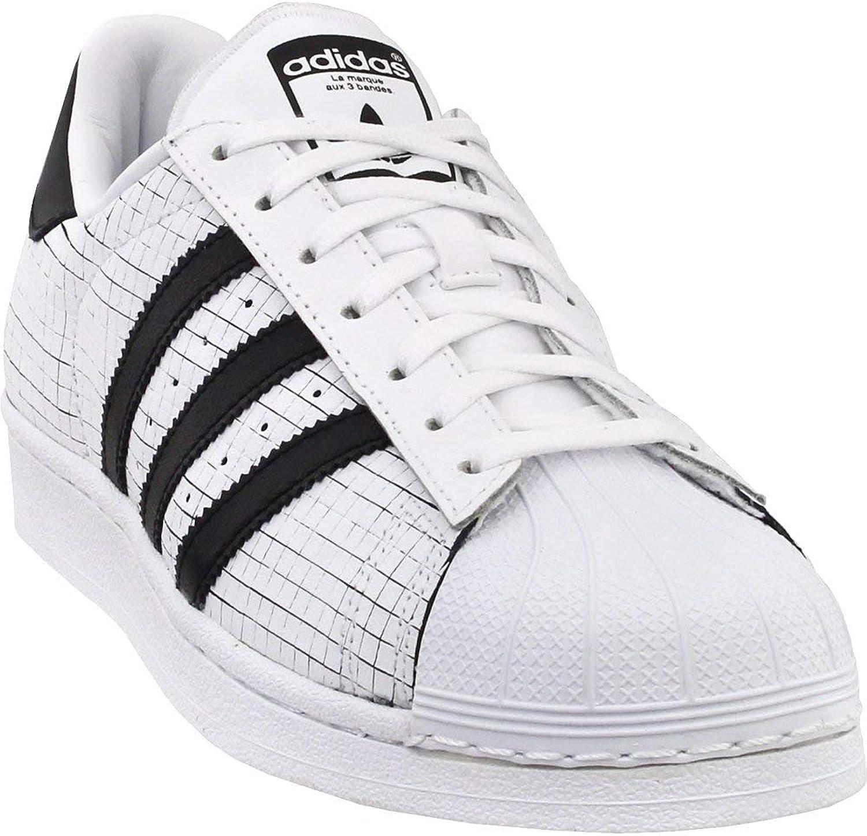 Adidas Mens Superstar Originals Ftwwht Cblack Cblack Casual shoes 8 Men US