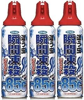 【まとめ買い】フマキラー 殺虫スプレー 瞬間凍殺ジェット 這う虫用 450ml 3個セット