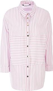 HELMIDGE Shirt met lange mouwen met strepenpatroon voor dames