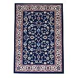 WEBTAPPETI.IT Tappeto Orientale per Salotto Stile Classico Persian 2079-BLU cm.180x270