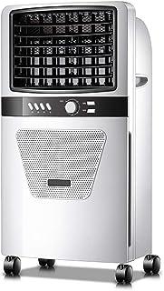 Climatizador Portátil Frío, Climatizador Evaporativo Portátil Ventilador de Aire Acondicionado Casa Oficina Silencioso Enfriador de Aire Humidificador