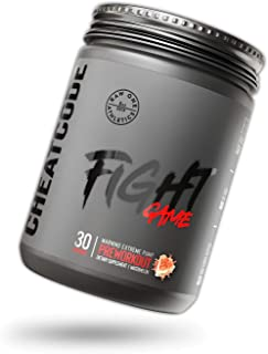 FIGHTGAME™ Pre Workout Powder by Raw One Athletics | 300g Nitric Oxide Booster | Increase Vascularity, Endurance & Pump Su...