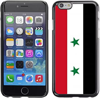 STPlus 国家旗帜 #6 硬质手机壳,适用于 Apple iPhone 7 Plus/iPhone 8 Plus Syria/Syrian