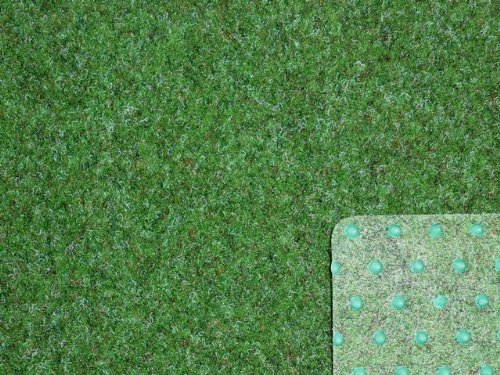 Ta-Bo Lifestyle Premium Kunstrasen Rasenteppich grün 10 mm mit Noppen 200 cm breit, 300x200 cm
