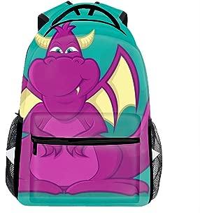 Dragon Cartoon Backpack for Kids School Laptop Backpack School Bags Rucksack Satchel Hiking Bag