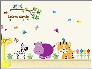 SYGA Cute Cartoon Wall Sticker for Home Decoration