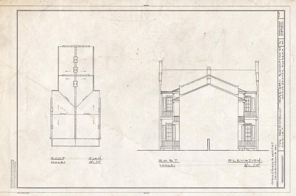 Historic Pictoric Max 48% OFF : Blueprint HABS ALA 59- Sheet Max 77% OFF of 49-MOBI 5