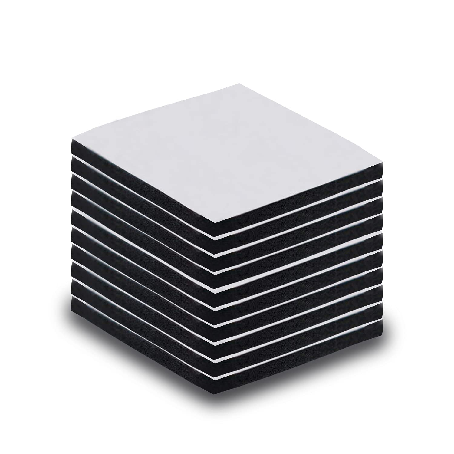 Double Sided Sticky Pads Black 10 Selling rankings Pcs Adhesive 1.57 Max 75% OFF Foam