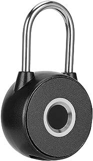 duurzaam vingerafdrukhangslot, deurbeveiligingsinvoer Smart Door Keyless Lock, USB oplaadbaar voor toegangscontrole Slimme...
