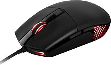 ABKONCORE - A660 PWM 3325 RGB Gaming Mouse - 10,000 DPI Adjustable - 100 IPS - 16.8M Colors RGB Backlight - Perfect grip for PC Games - MOFA & FPS
