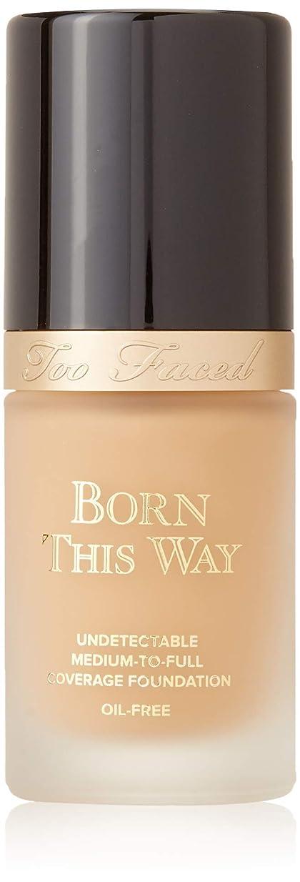 表面皮肉虚弱(Warm Nude) - Too Faced Born This Way Foundation (Warm Nude)