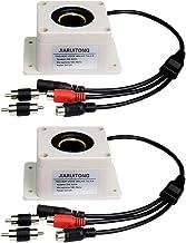 Homyl 2X Outdoor Speaker Two Way Microphone Protection Security Camera Video Surveillance Home Waterproof Interphone Porta...