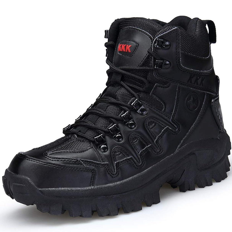 ひいきにする時間誕生日メンズアウトドア砂漠の戦闘ブーツパトロールブーツ軍の軍事ブーツ戦術兵器ブーツワークブーツマーティン?特殊部隊のブーツ