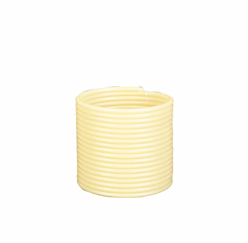 Candle by the Hour 144-Hour Refill, Eco-friendly Natural Beeswax with Cotton Wick