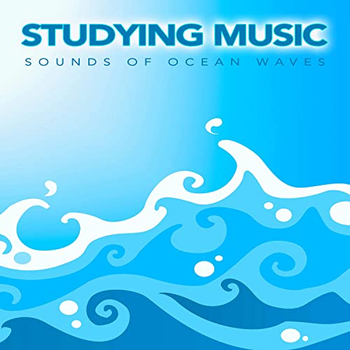 Ambient Background Ocean Waves Music by Binaural Beats Study Music