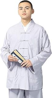 (ジ-ライク) G-like 坊さん服 僧侶 コスチューム 2点セット- 羅漢僧服 和尚 夏 シャツ パンツ 衣装 スーツ 4カラー