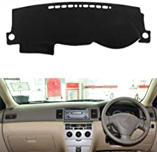 XHULIWQ Car Dashboard Cover Mat Pad Sun Shade Instrument Carpet, para Toyota Corolla E130 2003-2006