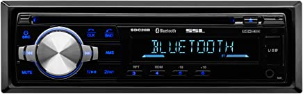 Sound Storm SDC26B Car Stereo CD Player – Single Din, Bluetooth Audio and Hands-