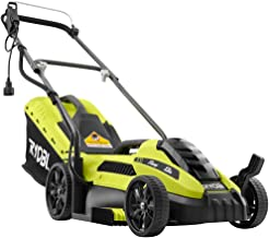 Ryobi 13 in. 11 Amp Corded Electric Walk Behind Push Mower, Maintenance Free with No Gas, Oil, Filters or Spark Plugs
