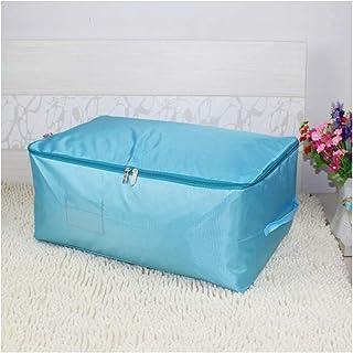 Aqiong CGS2 Sac de rangement portable pliable pour penderie, vêtements, couverture, sac de bagages, housse de couette lava...