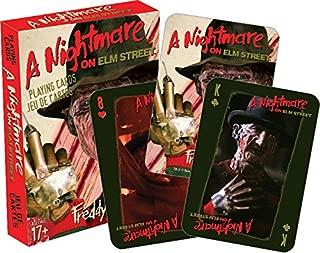 Aquarius Nightmare on Elm Street Playing Cards