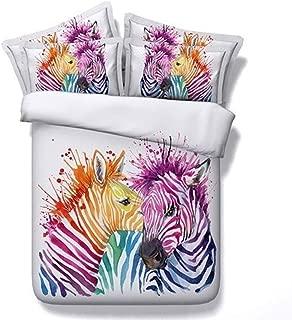 Best colorful zebra print bedding Reviews