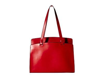 Lodis Accessories Audrey RFID Jana Work Tote (Red 1) Tote Handbags