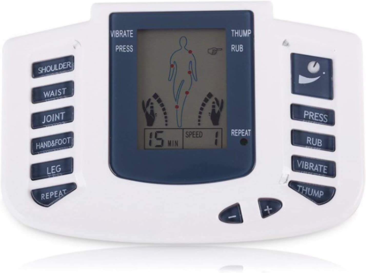 Easy-to-use NW 1776 Electronic Fashionable Acupuncture Massage Therapy Pain Relieves Rel