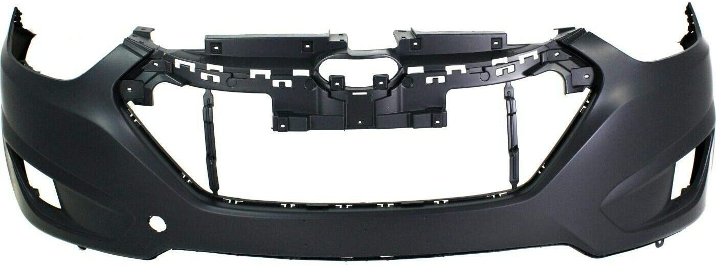 ZDK Front Bumper Cover Compatible with Max 47% OFF holes fog trust GLSL lamp w