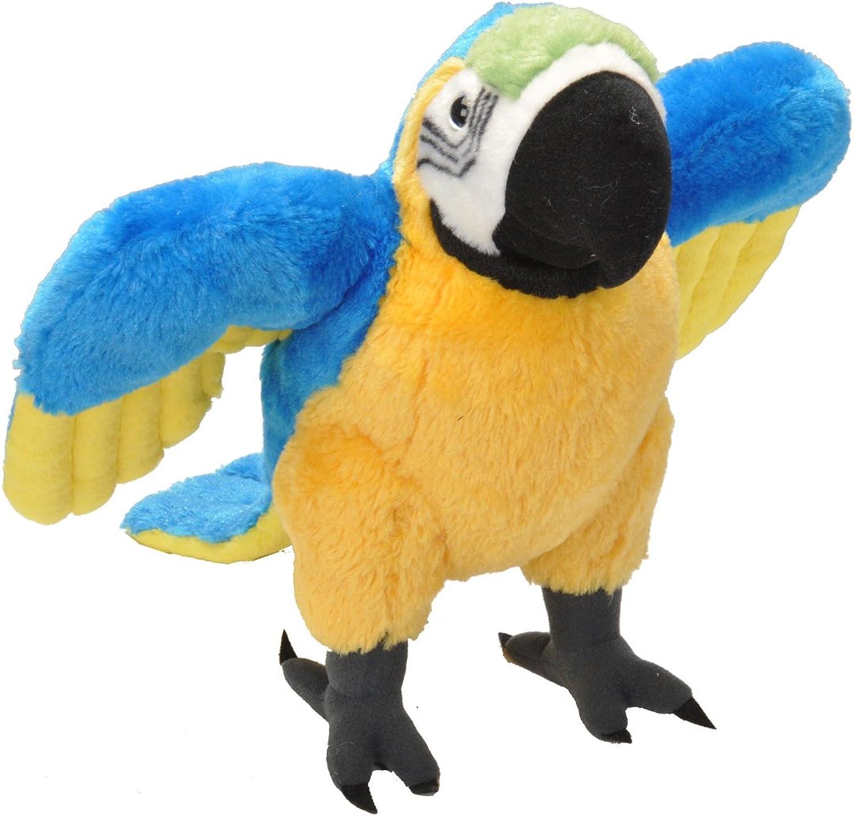 Wild Republic Macaw Parred Plush, 12