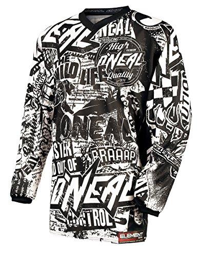 O/'Neal Element Hose Vandal Schwarz Grün Rot DH Downhill FR MTB BMX Mountain Bike