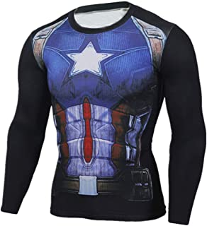 Dri Fit Marvel Avengers Infinity War Captain America Gym Shirt