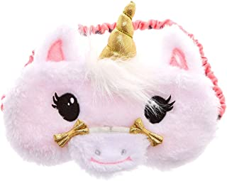Claire's Club Girl's Claire's Club Plush Unicorn Sleeping Mask