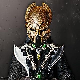 اسعار  Alien Warrior Fantasy Battle Axe w/ Dagger & Plaque New
