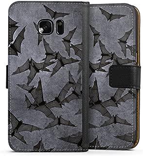 DeinDesign H/ülle kompatibel mit Samsung Galaxy S6 Edge Handyh/ülle Case Hallowen Spruch Vampir