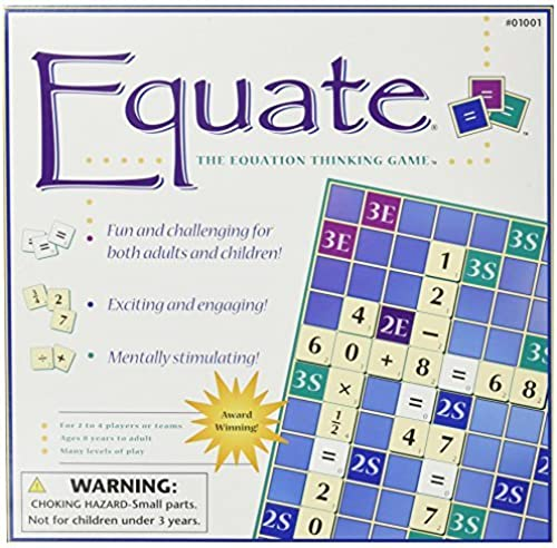 Equate  The Equation Thinking Game by Conceptual Math Media