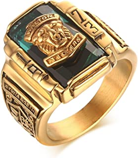 tiger signet ring
