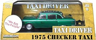 Greenlight Chase Green Machine Hollywood Series 86532 Taxi Driver Travis Bickle's 1975 Checker Taxicab 1:43 Scale