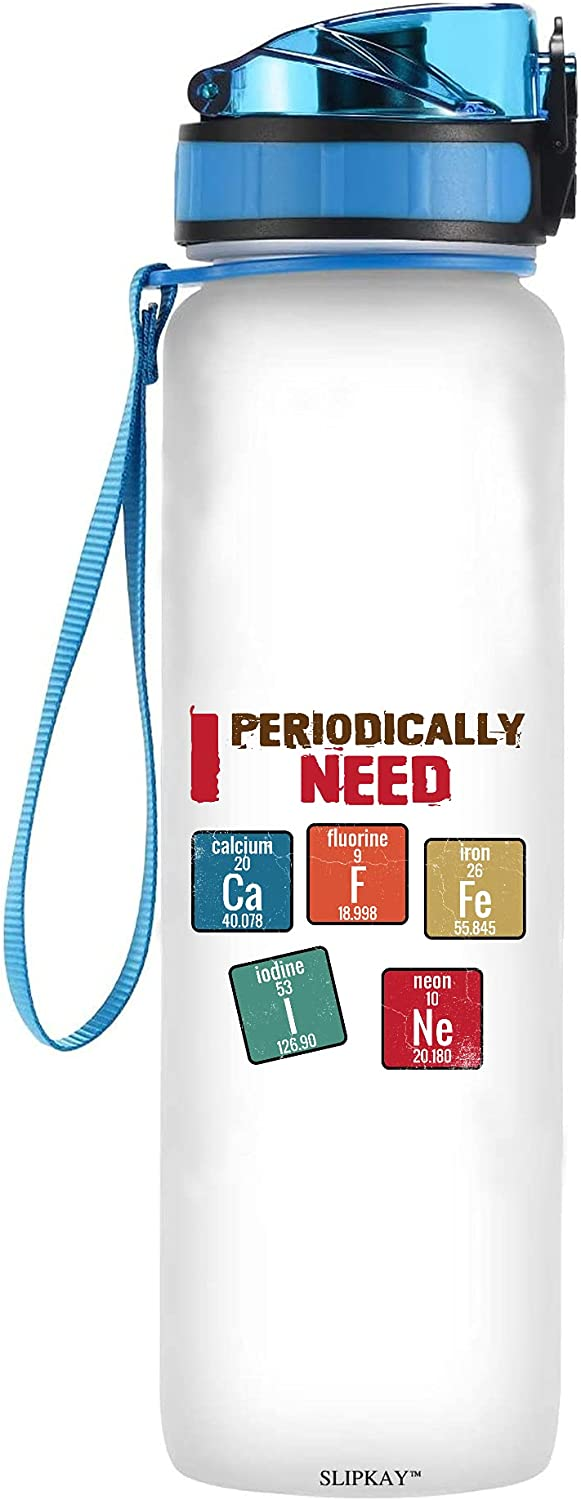 I Ranking TOP4 Periodically Need Caffeine Chemistry Los Angeles Mall Water Bottle Tracker Pun