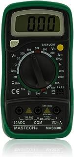 Mastech MAS830L Handheld LCD Display Digital Multimeter Backlight Data Hold Continuity Diode Test