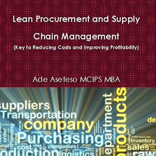 Lean Procurement and Supply Chain Management audiobook cover art