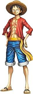 Banpresto Onepiece Grandista Monkey D. Luffy Manga Dimensions Figure, Multicolor
