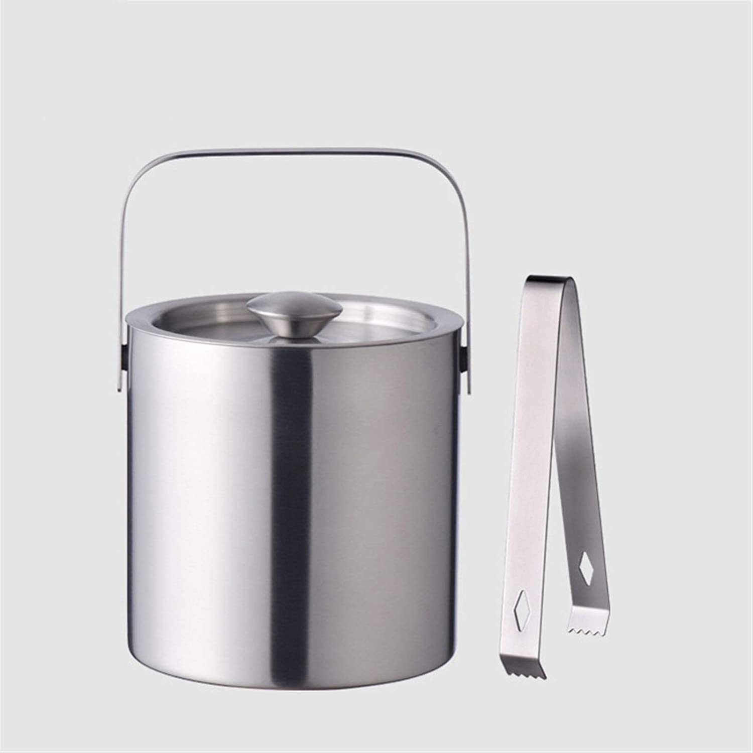 Ice Buckete Max 72% OFF Stainless Max 71% OFF Steel Double Ic Insulation Beer Bucket