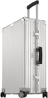 "Rimowa Classic Flight IATA Luggage 32"" inch Cabin Multiwheel Silver White"