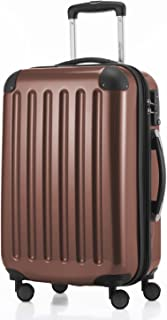 "Hauptstadtkoffer Alex Carry on Luggage Suitcase Hardside Spinner Trolley Expandable 20"" TSA, Brown, 55 Centimeters"