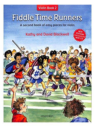 Oxford University Fiddle Time Runners 2 - arrangiert für Violine mit Online Audio [Noten/Sheetmusic] Komponist: Blackwell Kathy + David
