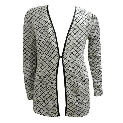 Garcia - Vest Sweat Jas Meisjes plaid, 2-kleuren