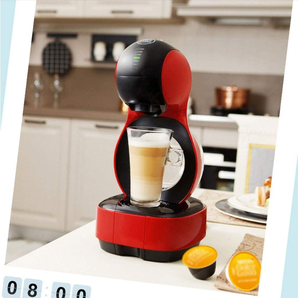 SPNEC PQQWW Café Capsule Machine Petite Maison Café Mode Pot 1.2 Litre Cafetière Pression Maximum 15 Bar (Color : A) A